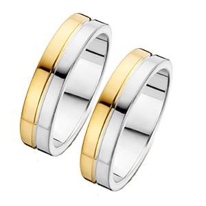 goedkope trouwringen goud met zilveren trouwringen