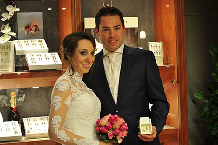 De foto van Niels & Angelique waarmee zij gratis trouwringen hopen te winnen bij trouwringen-Heusden.nl