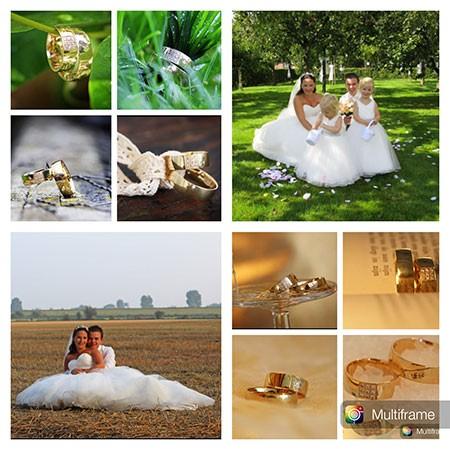 De foto van Ken en Tessa waarmee zij meedoen aan de actie win gratis trouwringen van trouwringen-Heusden.nl