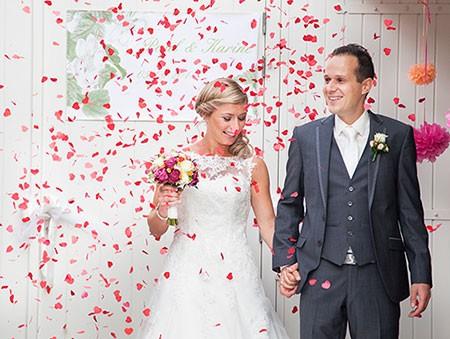 Paul en Karine, winnaars gratis trouwringen 2014 bij trouwringen-Heusden.nl