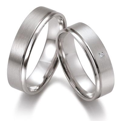 duo of love 8333 witgouden trouwringen herenring gratis