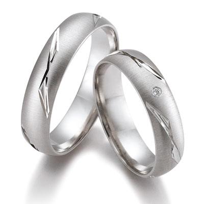 duo of love 8334 witgouden trouwringen herenring gratis