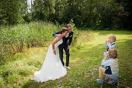 Paul en Maaike doen mee aan de actie win gratis trouwringen van trouwringen-Heusden van juwelier en goudsmid Sylvester Andriessen