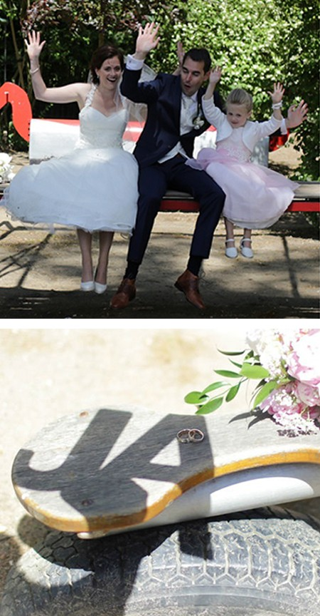 Tim en Brenda doen mee aan de aktie win gratis trouwringen van trouwringen-Heusden van juwelier Sylvester Andriessen
