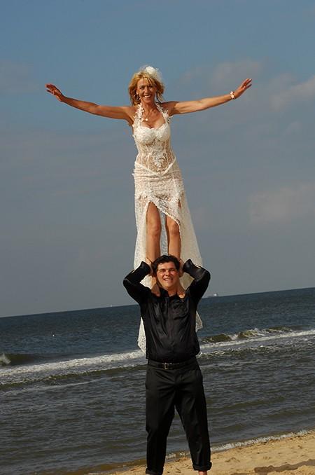 Maik & Ellen doen mee aan de aktie win gratis trouwringen van trouwringen-Heusden
