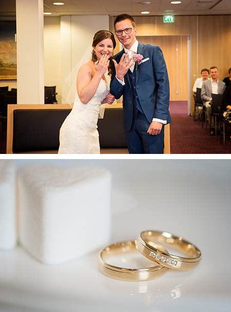 Sjoerd en Angela kochten trouwringen bij trouwringen Heusden