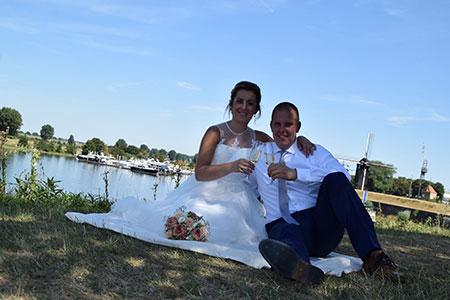 Rob en Stephanie kochten trouwringen bij trouwringen-heusden.nl
