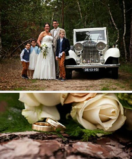 Bert-Jan en Martine kochten trouwringen bij trouwringen heusden van juwelier sylvester andriessen