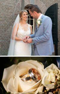 Marjolein en tim kochten trouwringen bij trouwringen heusden van juwelier sylvester andriessen