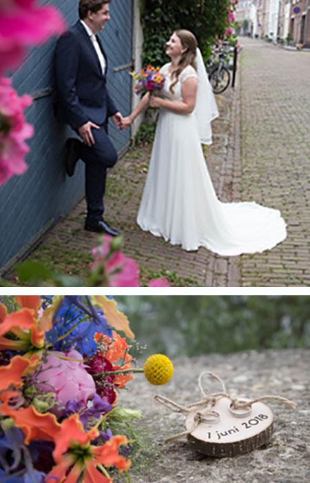 Martijn en Sijjanne kochten trouwringen bij trouwringen heusden van juwelier sylvester andriessen